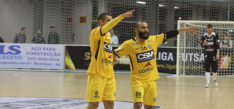 Jaraguá Futsal estréia com vitória no Estadual
