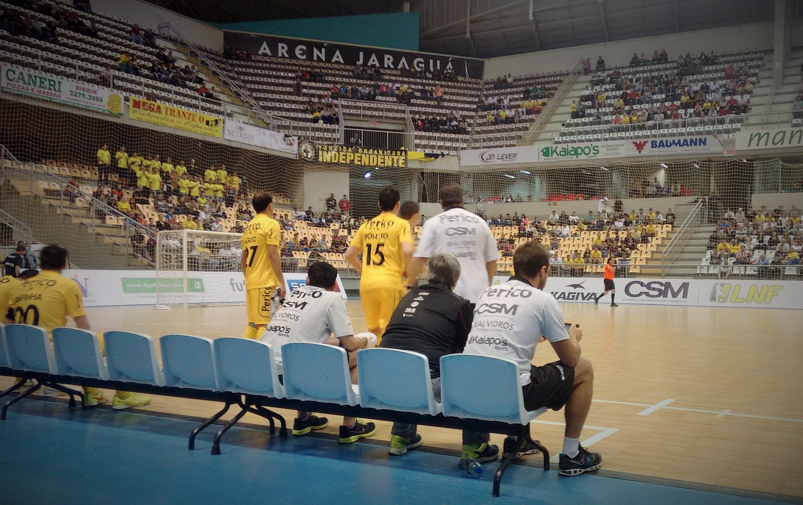 Jaraguá Futsal sofre primeira derrota em casa, pela LNF