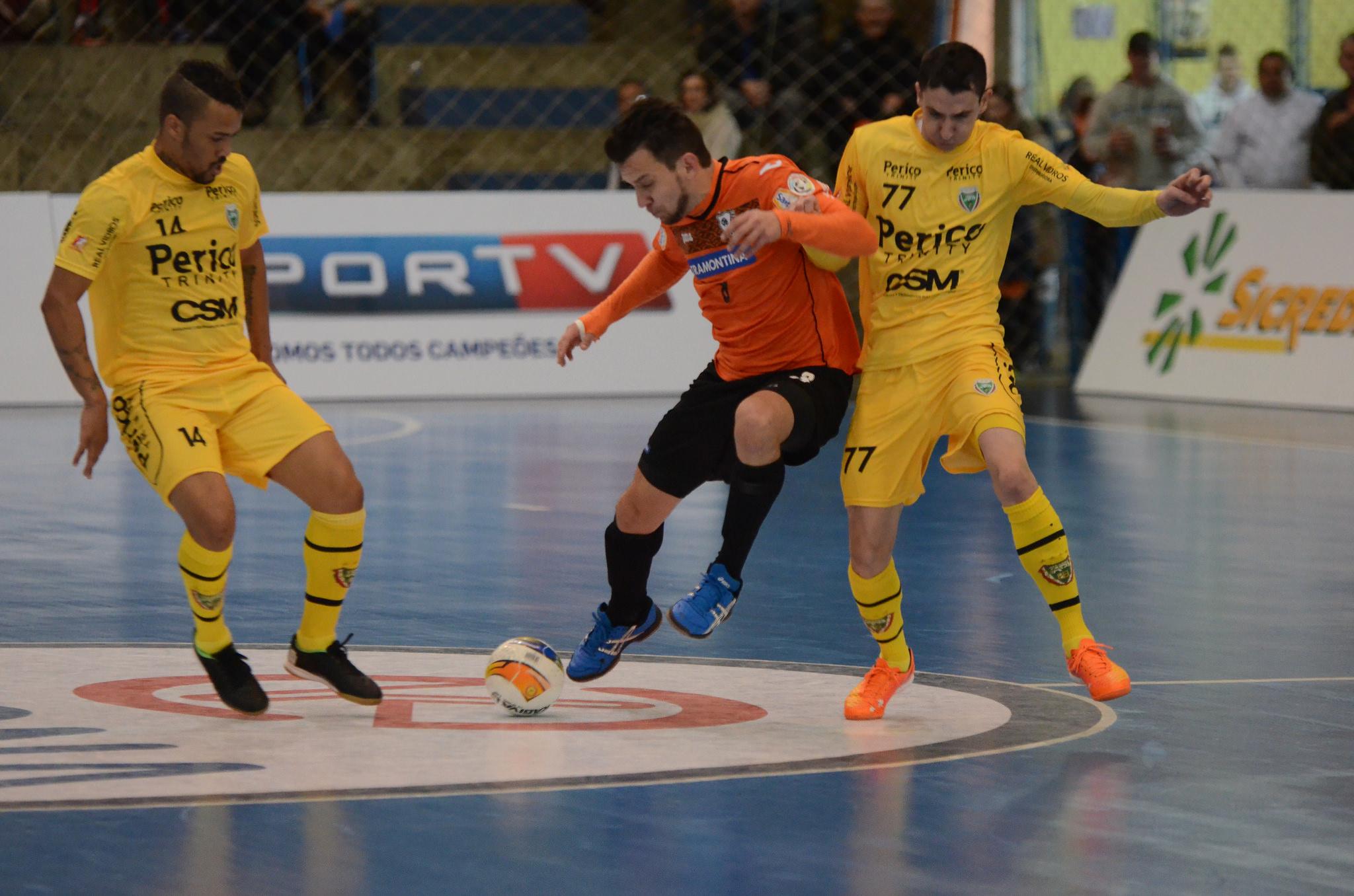 Jaraguá Futsal é superado em Carlos Barbosa pela LNF