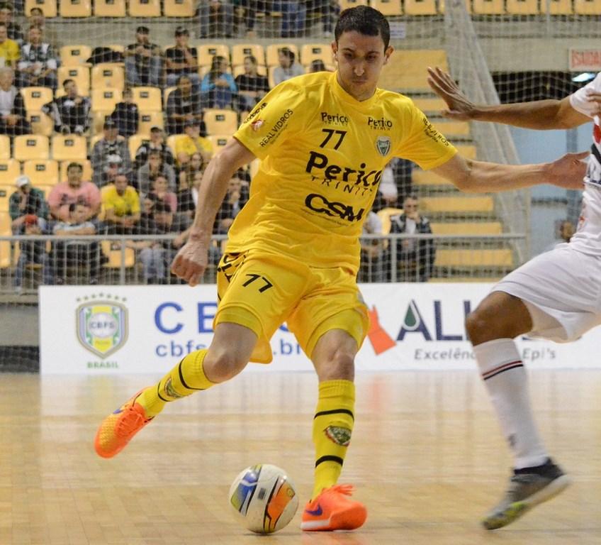 Jaraguá Futsal é superado pelo Concórdia e enfrenta Atlântico de Erechim nesta segunda