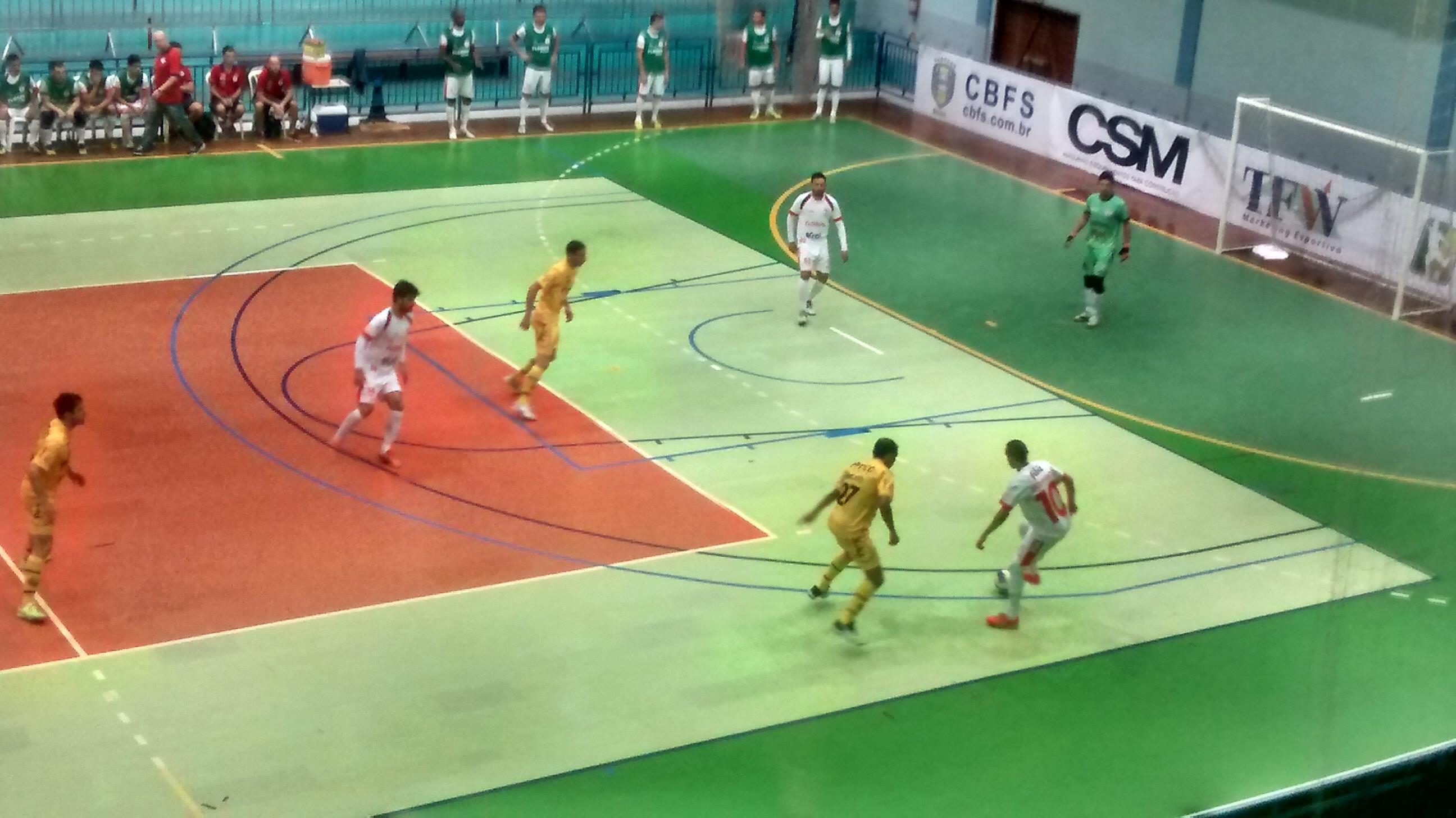 Jaraguá Futsal perde para o Floripa no Estadual