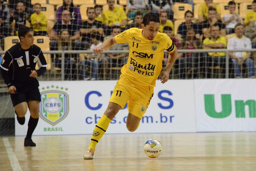 Com gol de último segundo, Jaraguá Futsal empata com São José pela LNF