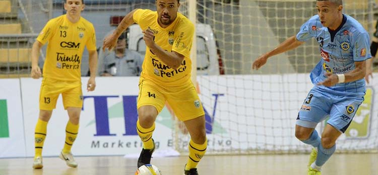 Jaraguá Futsal é superado pelo Tubarão, no Sul do Estado