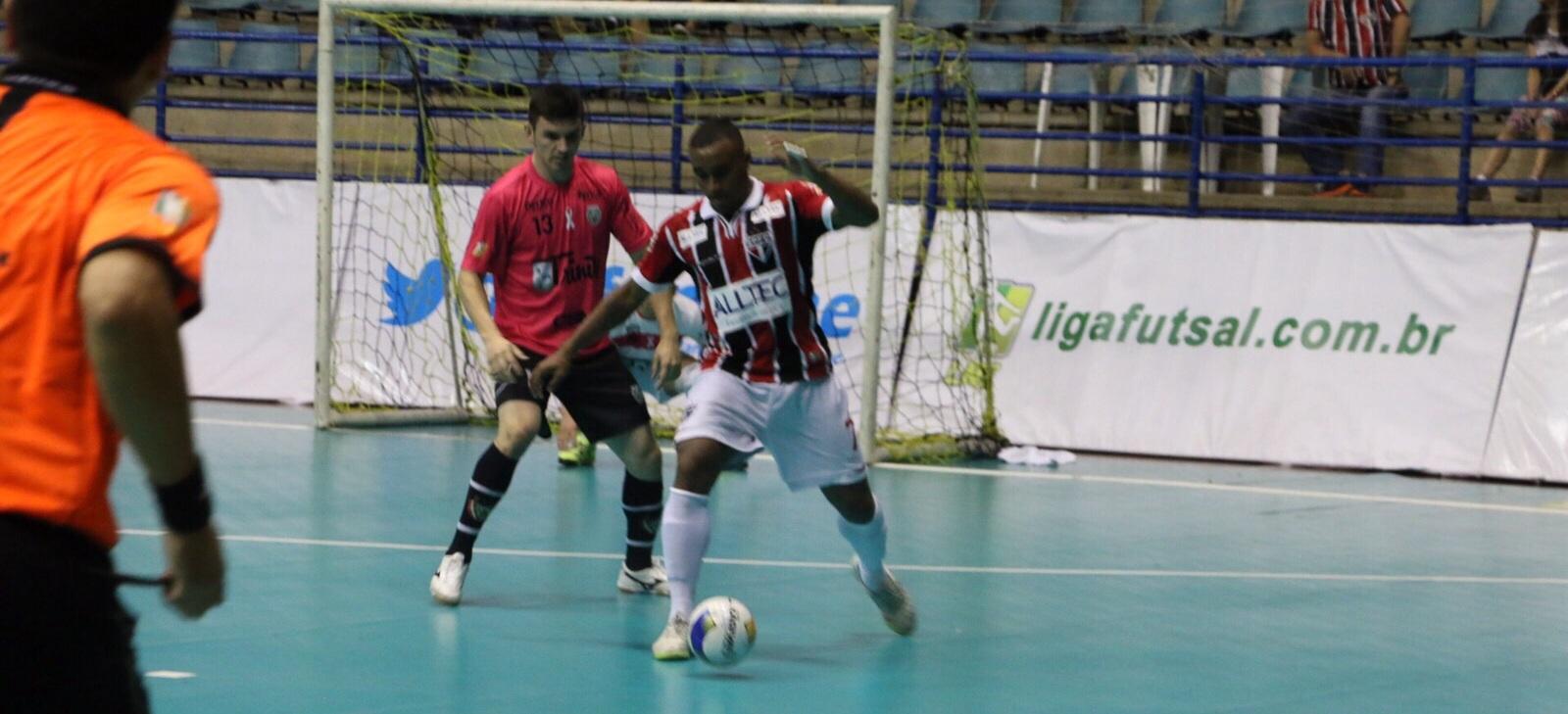 Jaraguá Futsal vence São Paulo na última rodada e se classifica em 2º na LNF
