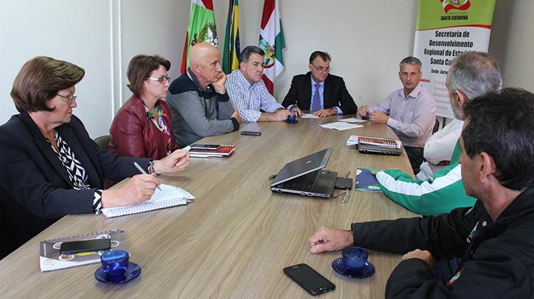 Fesporte, FME e SDR de Jaraguá do Sul se reúnem para definir preparativos para Olesc