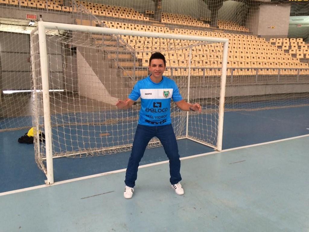 Jaraguá Futsal anuncia o retorno do goleiro Franklin