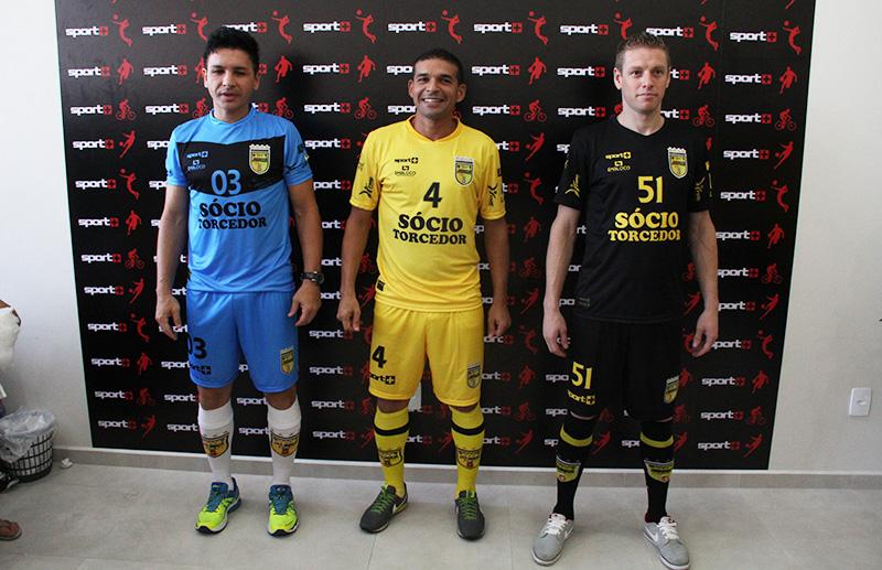 982e3a4e01cca Jaraguá Futsal apresenta os novos uniformes oficiais para a torcida ...