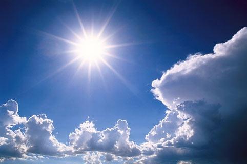 Quinta-feira tem previsão de muito calor e sol entre nuvens