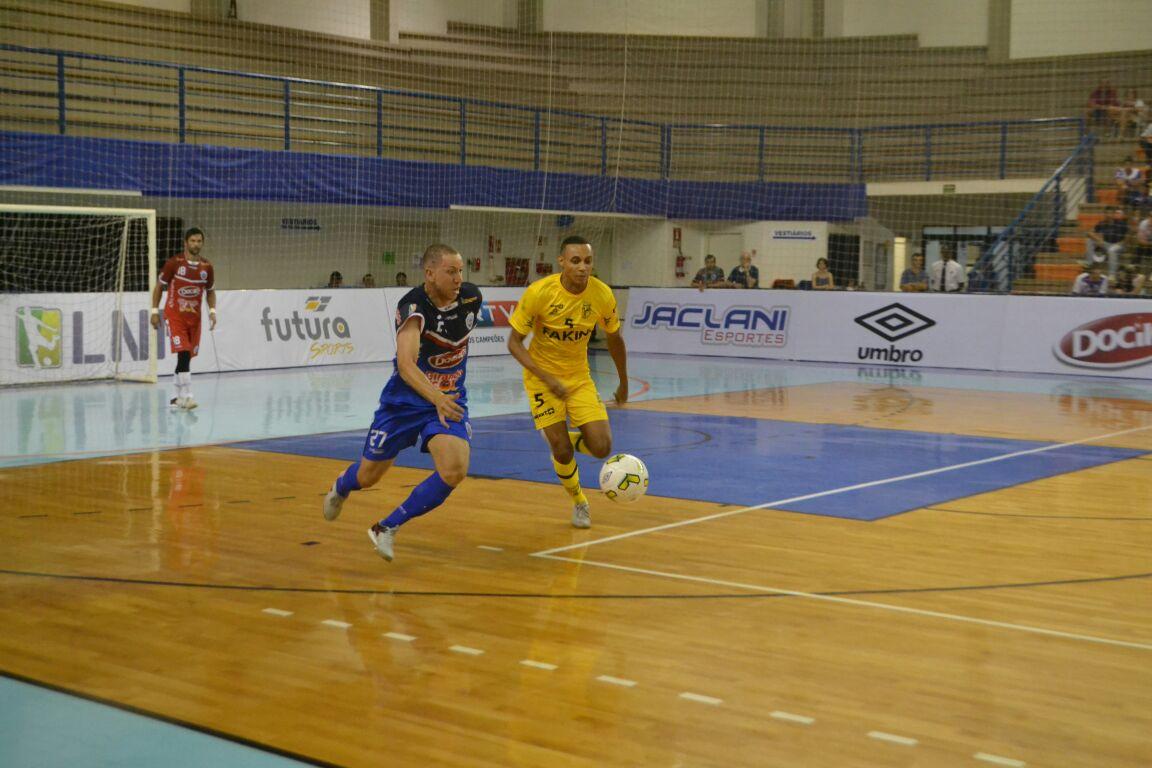 Jaraguá Futsal empata com o Lajeado pela Liga Nacional