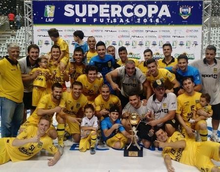 Jaraguá Futsal conhece seus adversários na Libertadores