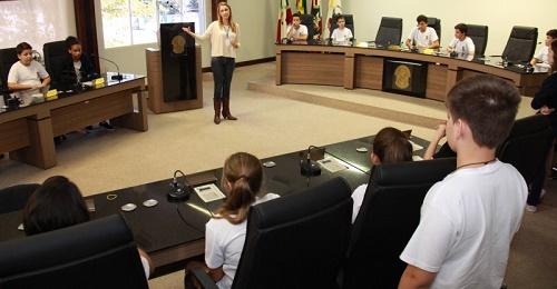 Vereadores Mirins de Jaraguá do sul tomam posse hoje