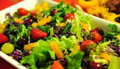 PELA PORTA DA COZINHA: Receita de salada tropical