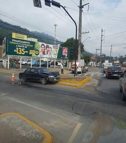 Crianças ficam feridas em acidente em Jaraguá do Sul