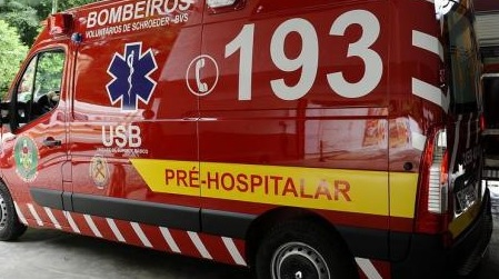 Mais um motociclista fica ferido em acidente em Jaraguá do Sul