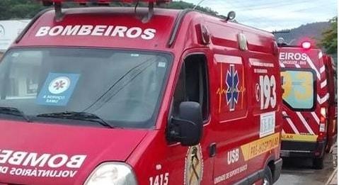 Jaraguá: Idosa sofre queda e é encaminhada ao hospital com um ferimento na cabeça