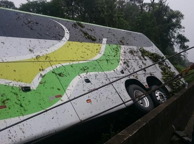 Mulher de Schroeder morre em acidente com ônibus no Paraná