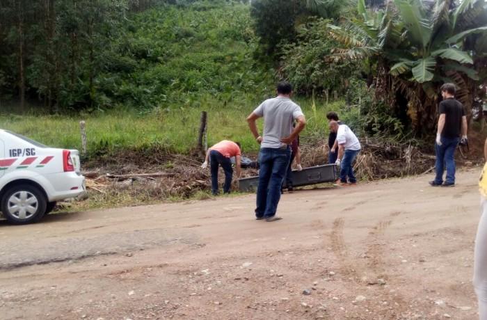 Homem suspeito de cometer assassinato é encontrado morto em Jaraguá do Sul