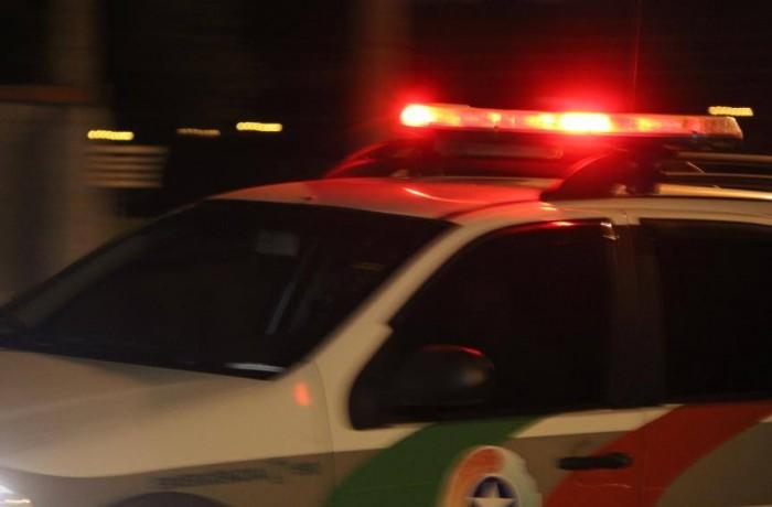 Criminoso é preso em abordagem policial no bairro São Luís, em Jaraguá