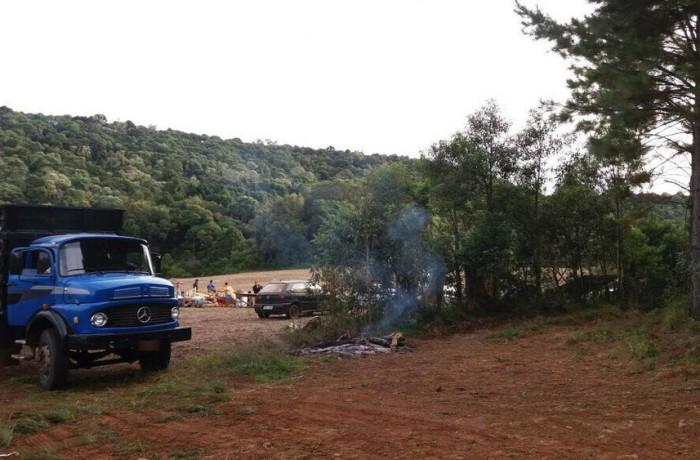 Grupos sem-terra ocupam propriedades em Garuva e Fraiburgo