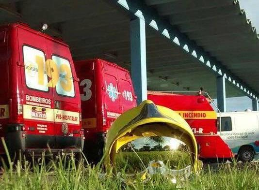 Queda de laje deixa trabalhadores feridos em Massaranduba