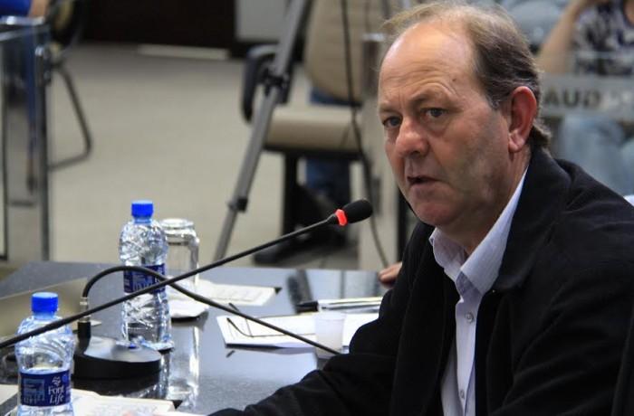 Vereador Jaime Negherbon. Foto: Câmara de Vereadores de Jaraguá do Sul.