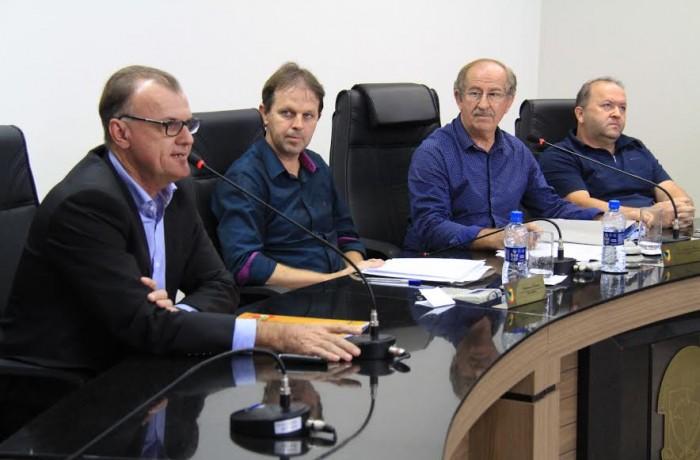 Situações de obras estaduais são debatidas na Câmara de Vereadores de Jaraguá do Sul