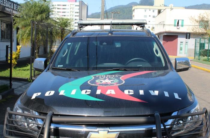 Viatura da Polícia Civil(foto arquivo RBN)