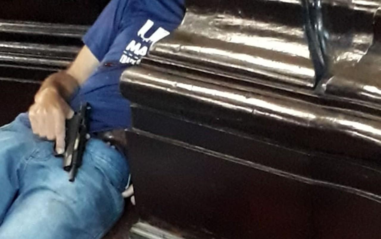 homematiradorSuspeito matou quatro pessoas e praticou suicídio, em Campinas, Foto: Reprodução/EPTV