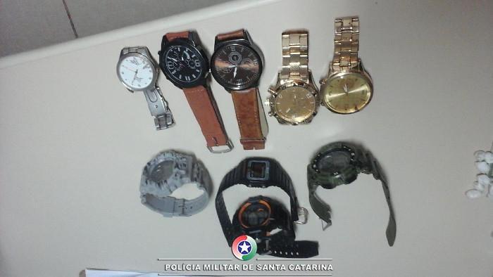 Acusado aceitou relógios como pagamento