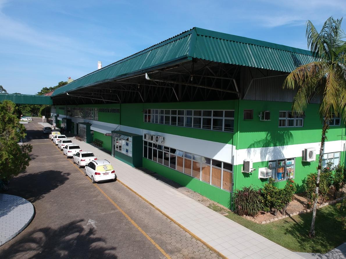 Terminal Rodoviário de Jaraguá do Sul(foto Prefeitura Municipal)
