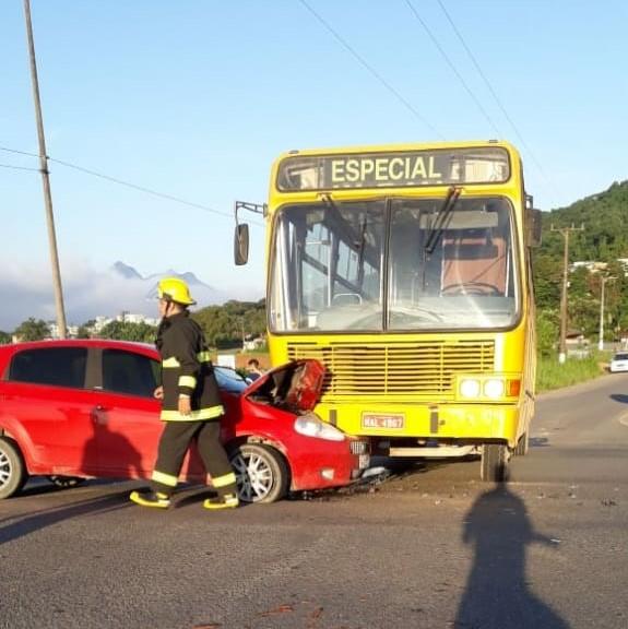 Acidente foi na SC-108(foto Divulgação)