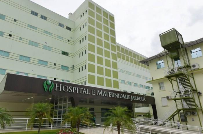 Hospital e Maternidade Jaraguá (Foto: Arquivo)