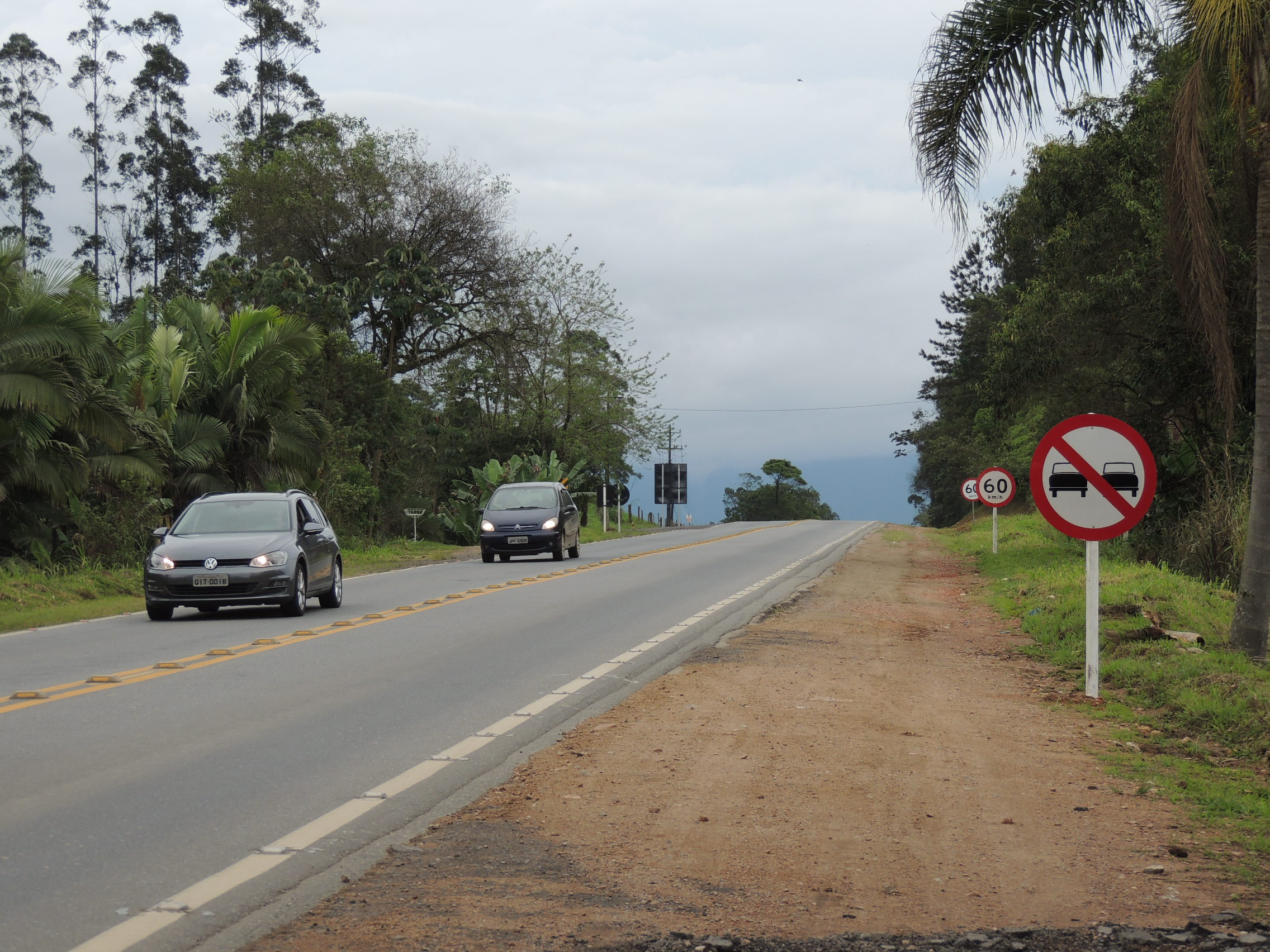 BR-280, (foto Prefeitura de Corupá)