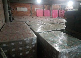 Carga recuperada em loja de material de construção de Indaial, é avaliada em R$ 173 mil(FOTO: PM)