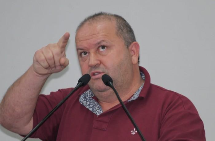 """Vereador Marcelindo: """"Não vejo motivo para discurso agressivo"""". Foto: Emerson Alexandre Gonçalves"""