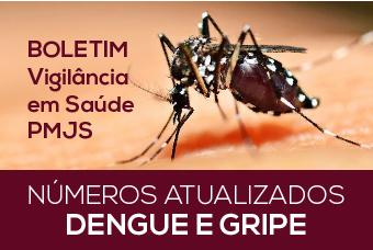 Boletim da gripe A, dengue e sarampo em Jaraguá do Sul