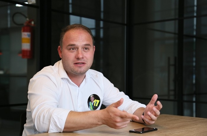 Deputado Fábio Schiochet, presidente estadual do PSL. Foto: Assessoria