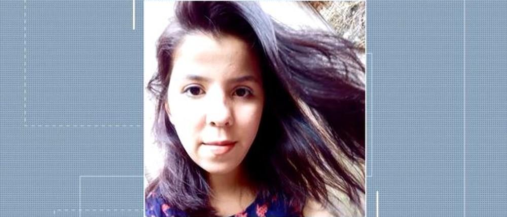 Tatiana dos Santos, de 20 anos, moradora de Seara — Foto: Reprodução/ NSC TV