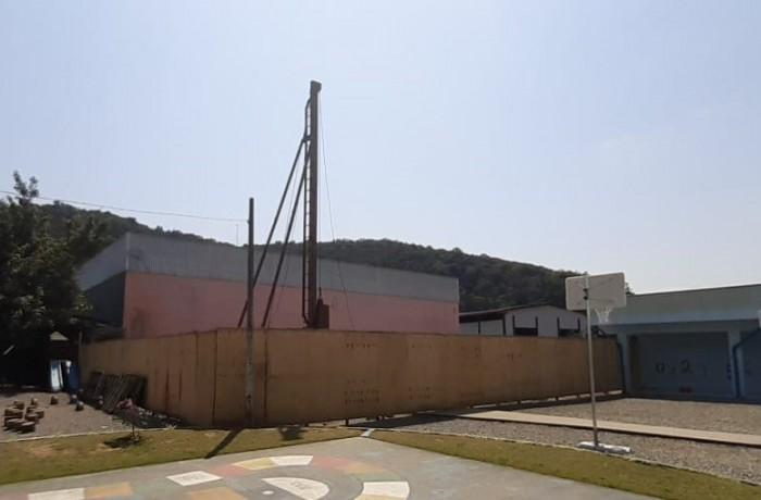 Obra é solicitada pela população desde a municipalização da escola. Foto: Prefeitura de Guaramirim