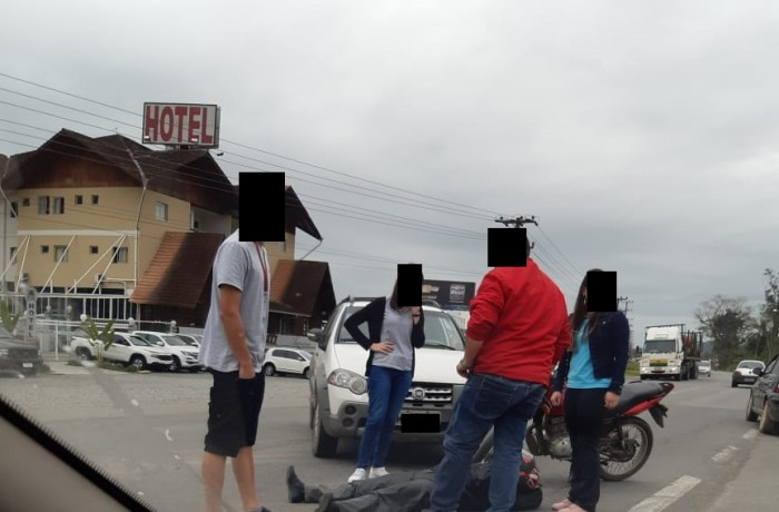 Polícia Rodoviária Federal e Bombeiros Voluntários estiveram no local.Foto: redes sociais