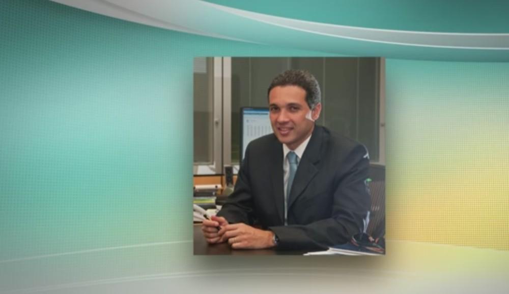 Márcio Lobão é filho do ex-ministro e ex-senador Edison Lobão — Foto: Reprodução/TV Globo