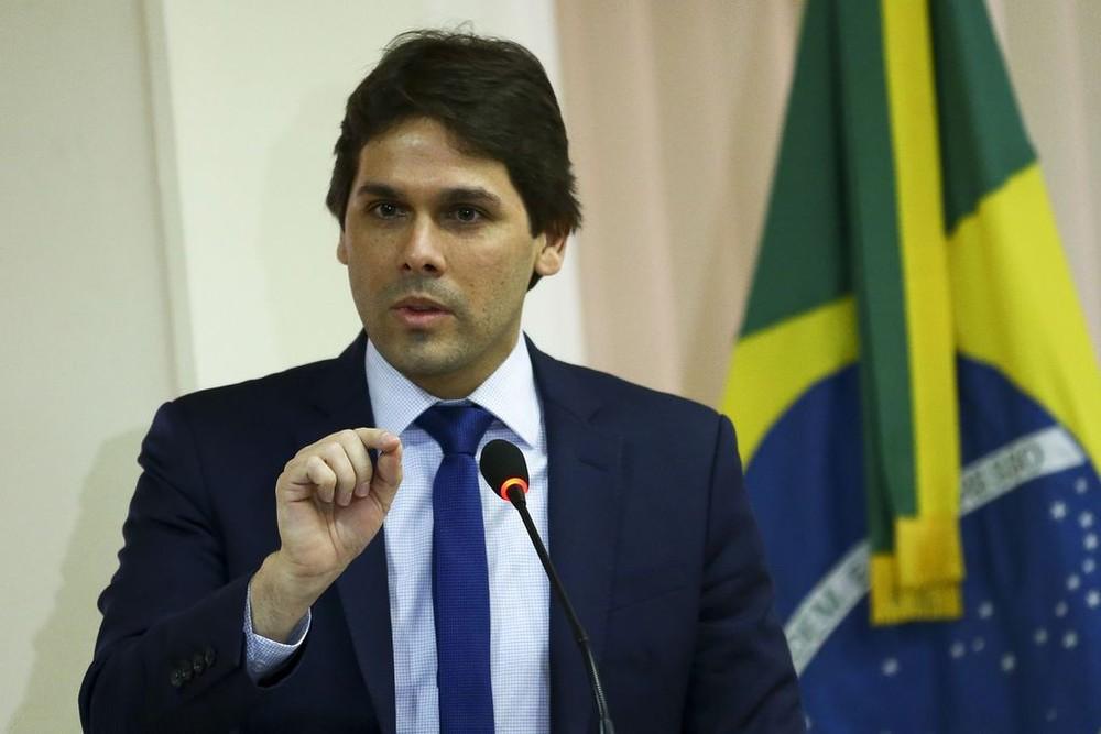 Renato Vieira, presidente do INSS, em imagem de arquivo — Foto: Marcelo Camargo/Agência Brasil