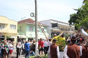 Desfile no centro da cidade. Foto: Prefeitura de Jaraguá do Sul