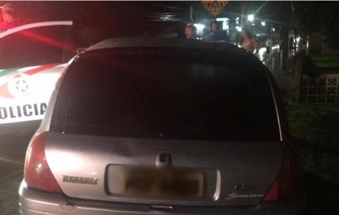 Motorista embriagado atrapalhava o trânsito e foi preso. Foto: Divulgação/PM