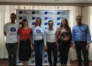 Diretoria da CDL eleita para a gestão 2020/2021. Foto: CDL