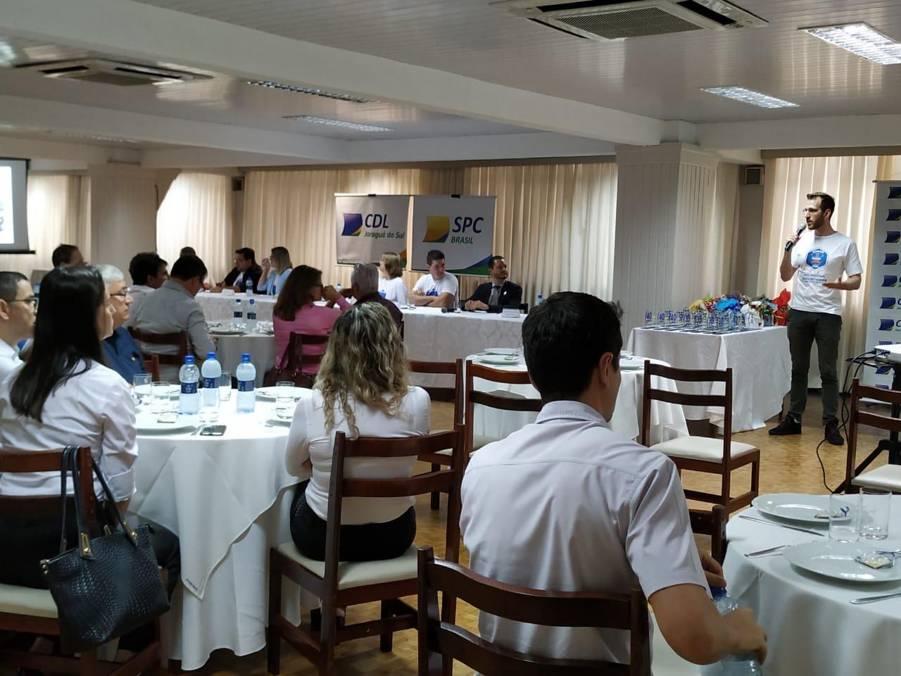 Plenária da CDL na quarta-feira(27), no Baependi. Foto: CDL
