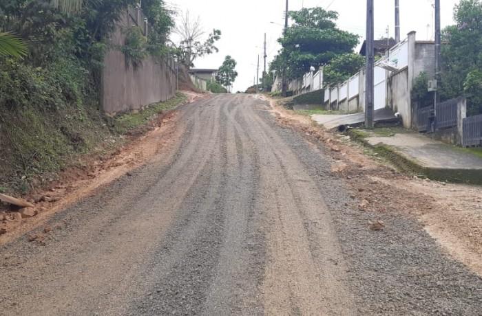 Morro do Schmidt. Foto: Assessoria de Imprensa da Prefeitura de Guaramirim