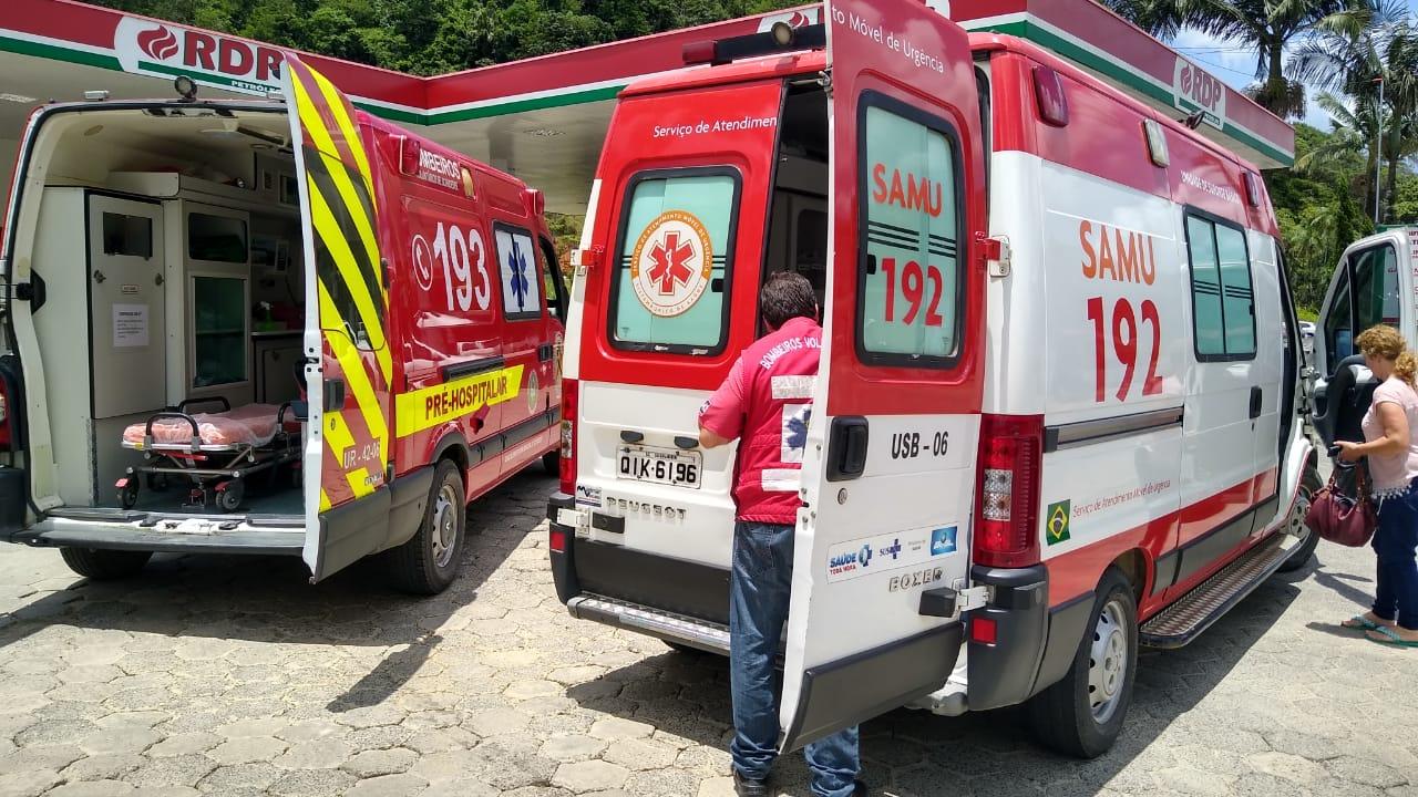Foto: Bombeiros Voluntários de Schroeder/Divulgação