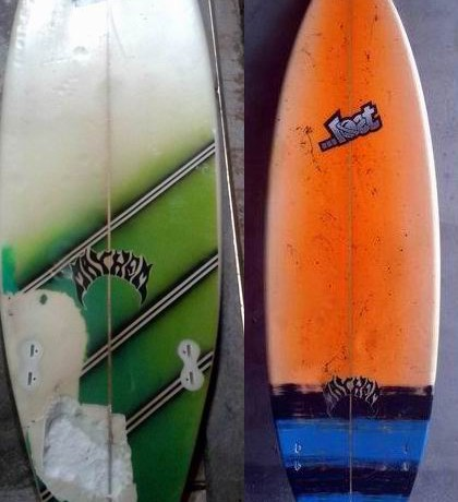 Imagem ilustrativa: prancha de surf