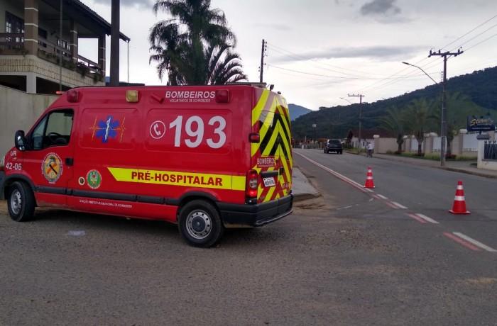 Fotografia: Bombeiros Voluntários de Schroeder